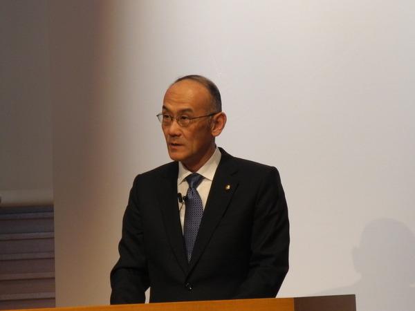 ヤマハ発動機社長「普通乗用車の事業化を一旦凍結した」…新中期経営計画を発表