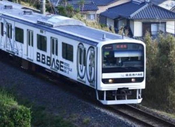 房総のサイクルトレイン『B.B.BASE』が初めて群馬へ…両国-高崎・前橋間で運行 5・6月