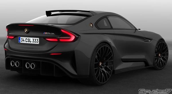 BMW 4シリーズ に伝説の「CSL」が復活...予想デザインはこれだ!