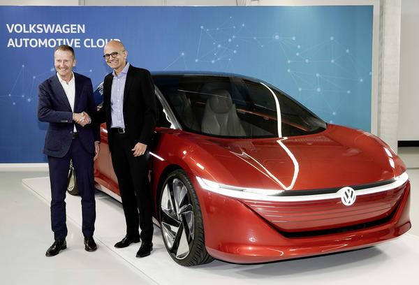 VWとマイクロソフト、クラウドプラットフォームを世界展開へ…戦略的提携を拡大