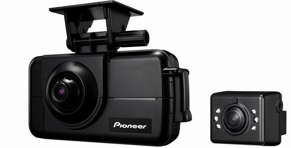 パイオニア、クラウド型運行管理サービスの対応端末に2カメラタイプの通信ドラレコを追加