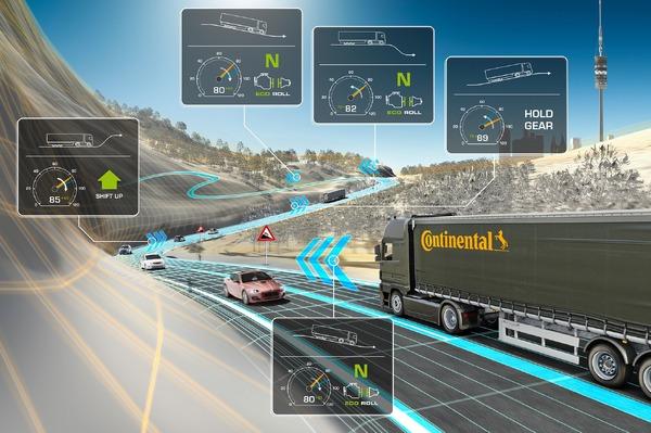 コンチネンタル、クラウドベースで自動的にエコ運転…10億リットル以上の燃料を節約