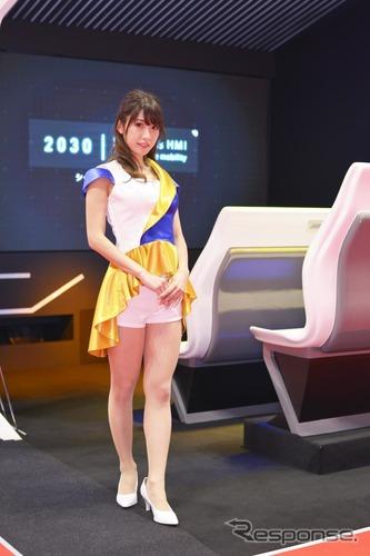 【東京オートサロン 】コンパニオン画像全ブー …