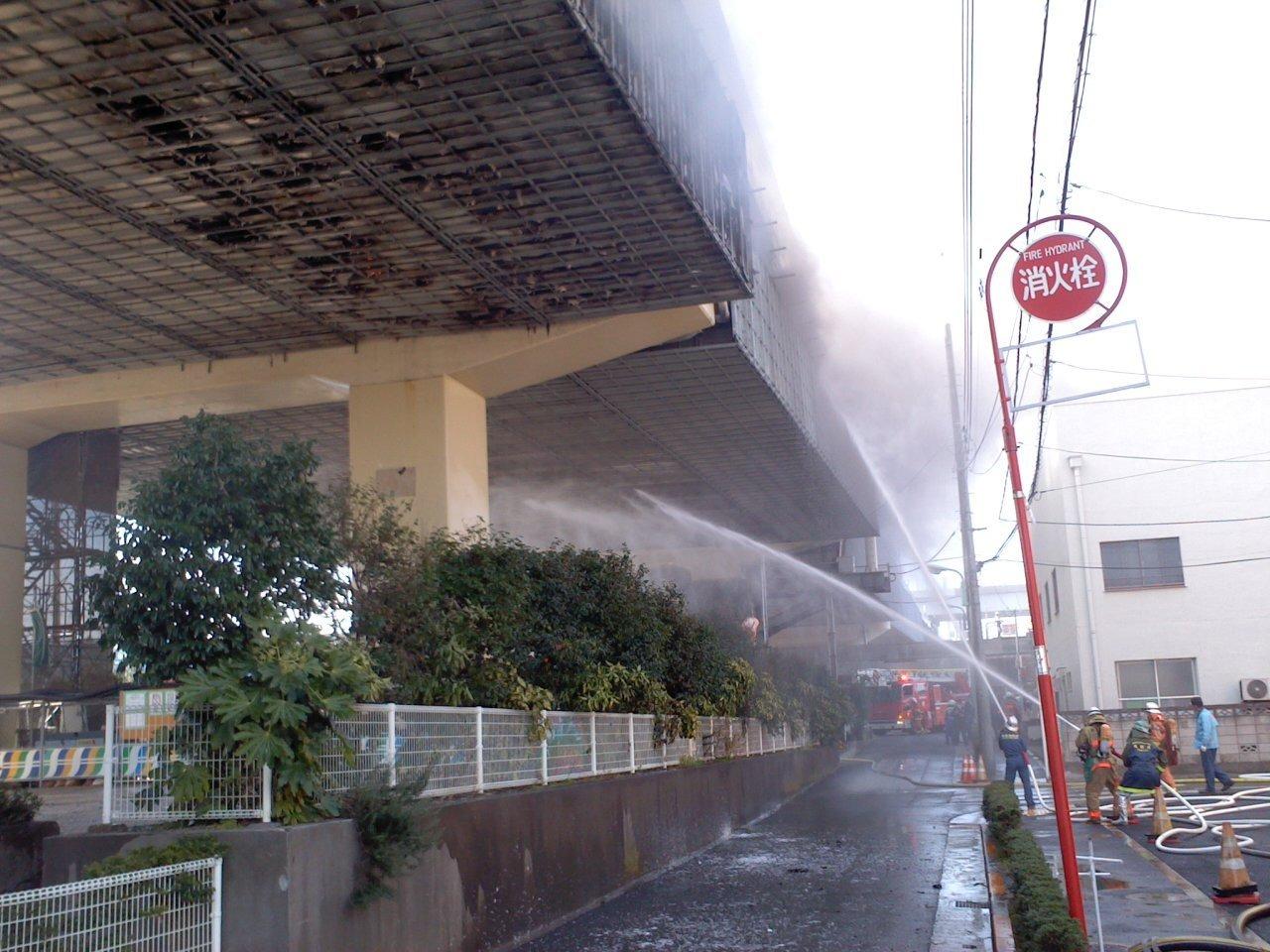 リアルタイム 川崎 火事