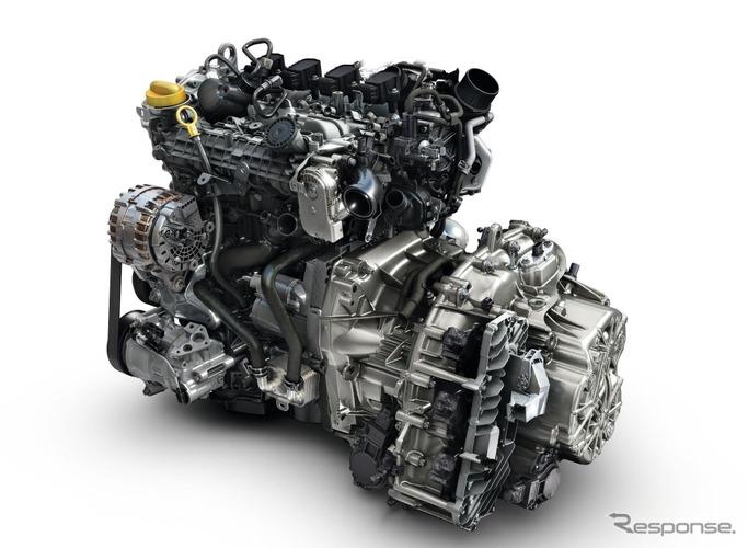 ルノーの新1.3リットル直列4気筒ガソリンターボ