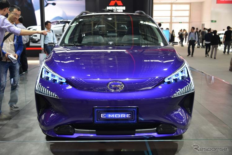 広汽三菱 EVコンセプトモデル E MORE(北京モーターショー2018)