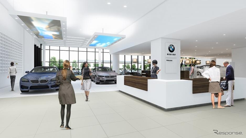 正式名称決定「BMW GROUP Tokyo ...