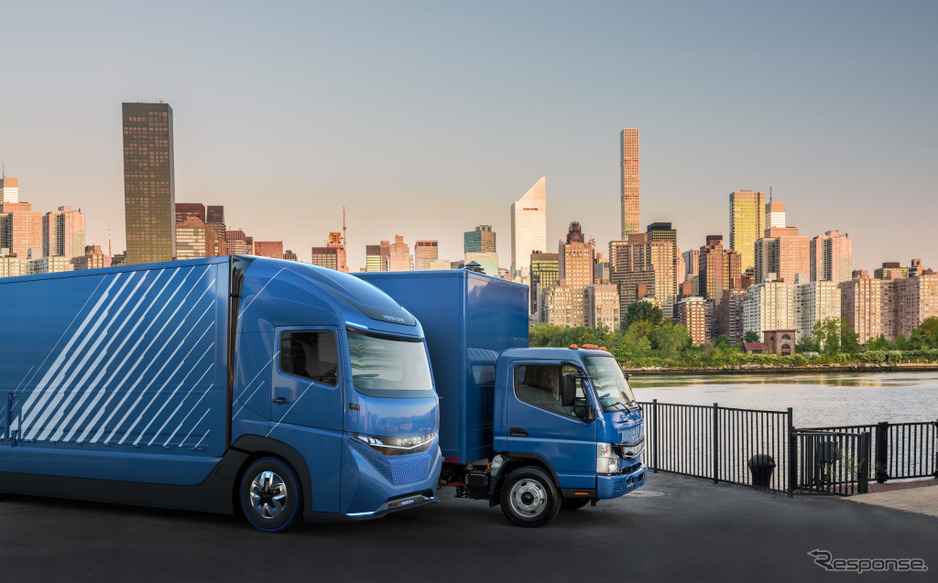 E-FUSO Vision ONEとeキャンター