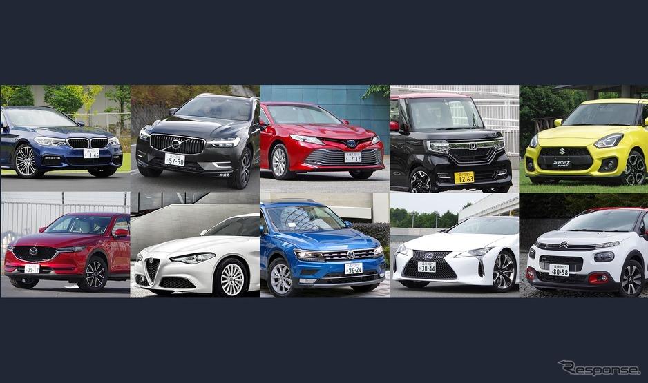2017-2018の10ベストカーの10台