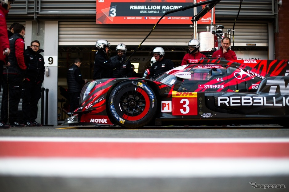 REBELLION RACING - Rebellion R13 - Gibson