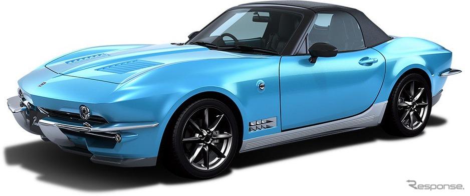 【自動車】光岡、オープンカー「ロックスター」を発売 60年代アメ車風デザイン 1.5リッターエンジン搭載 価格は468万円から★2YouTube動画>4本 ->画像>51枚