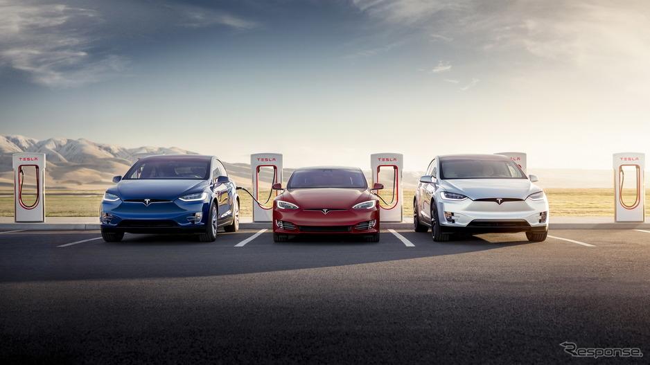 【EV】テスラ、新急速充電「V3スーパーチャージング」発表…充電時間を約15分に短縮