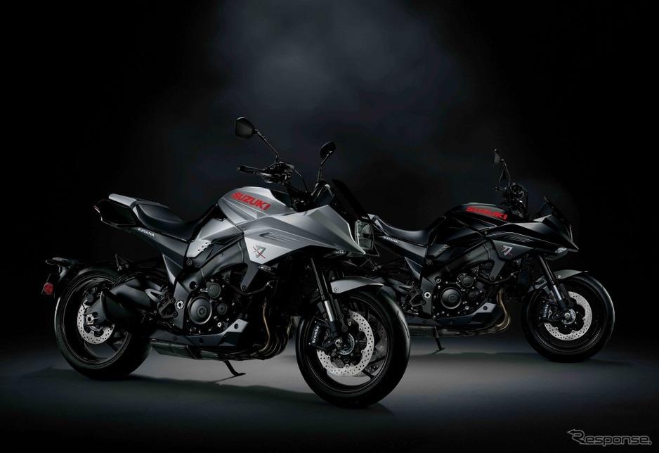 【オートバイ】スズキの新型 カタナ、日本初見参…大阪・東京モーターサイクルショー201