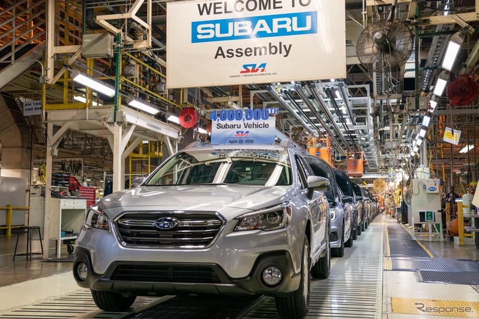 スバル、米国生産400万台を達成…...