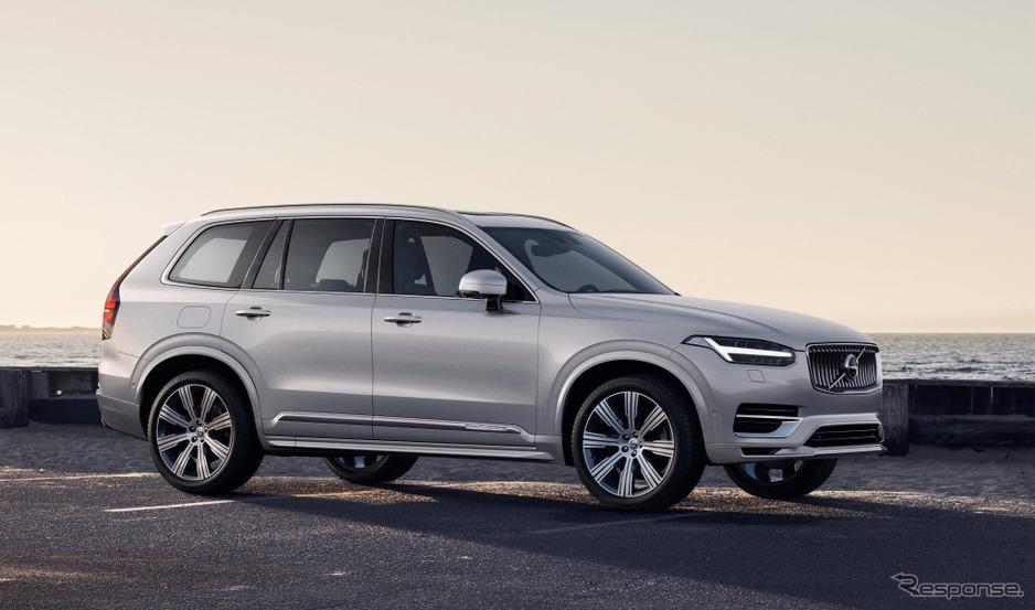 【自動車】ボルボ、XC90 を一部改良、内外装変更や安全性能強化 価格799万円より【SUV】