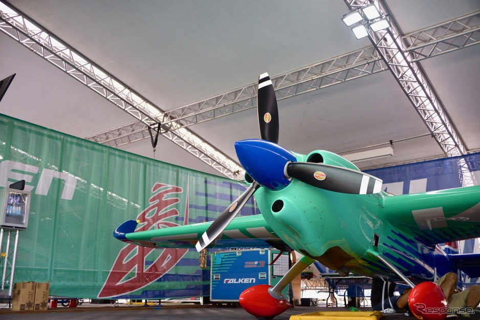 RED BULL AIR RACE CHIBA 2019 Media Hangar Walk