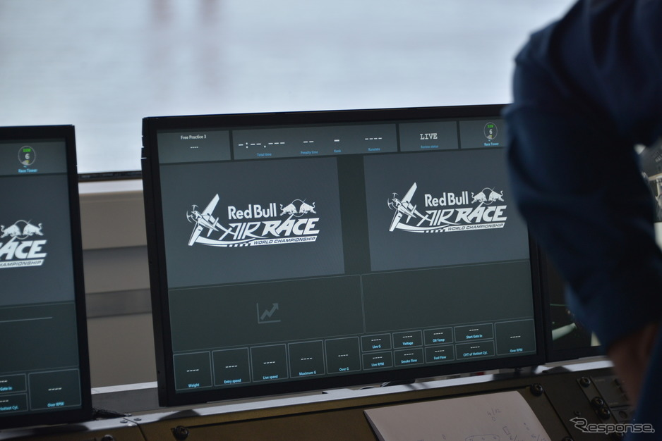 RED BULL AIR RACE CHIBA 2019 Media Race Control Experience
