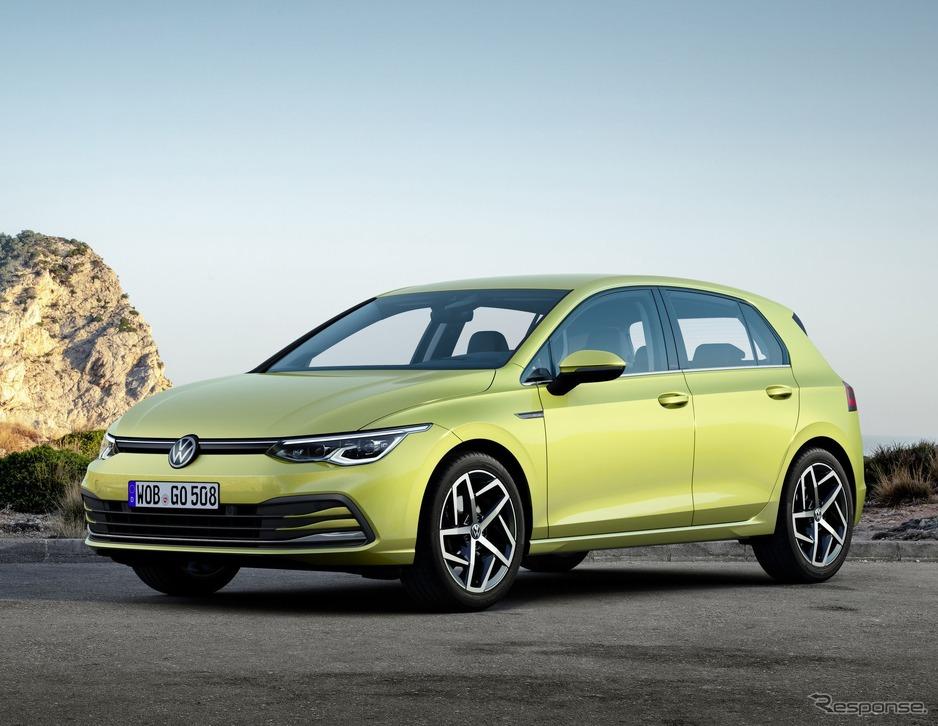 【自動車】VW ゴルフ 新型、8世代目を発表…48Vマイルドハイブリッド採用