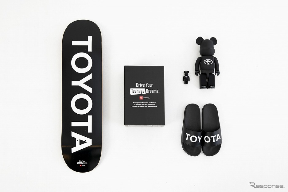 "BE@RBRICK TOYOTA ""Drive Your Teenage Dreams."