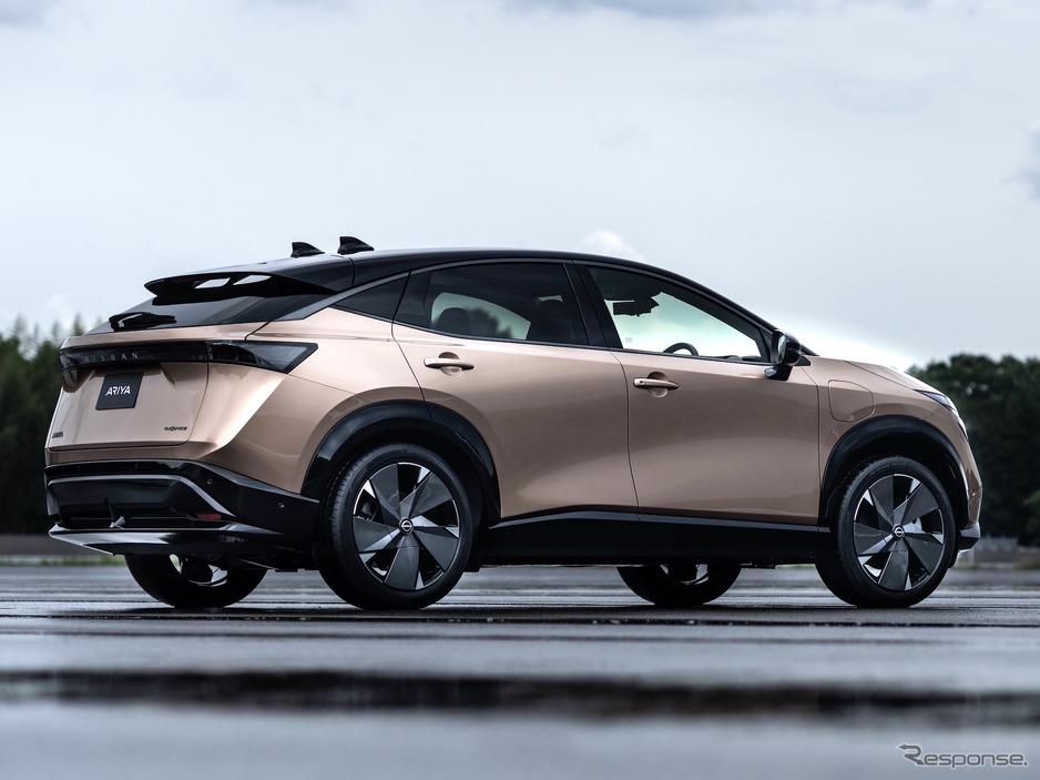 【自動車】【日産 アリア】新時代のクロスオーバーEV 発表、実質購入価格は約500万円から【ARIYA】