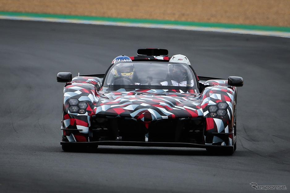 トヨタGRスーパースポーツ(ルマン24時間耐久レース2020会場)