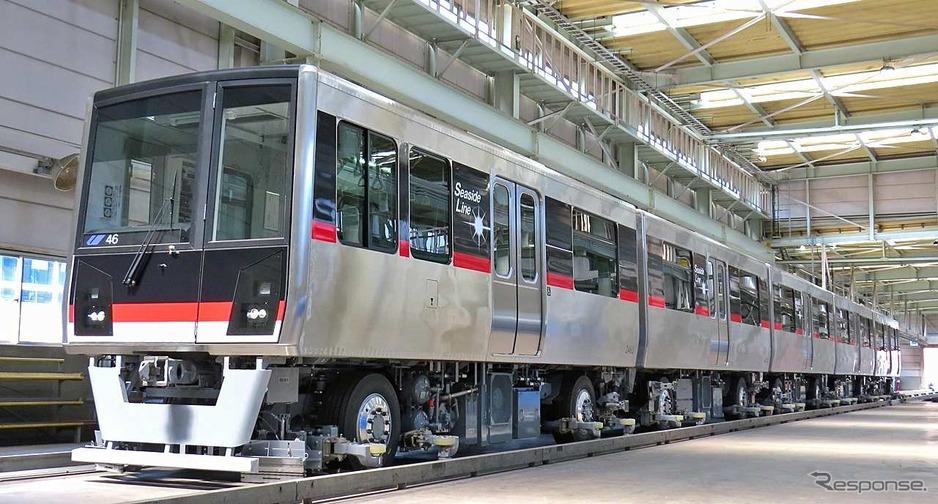 横浜シーサイドライン、車両基地...