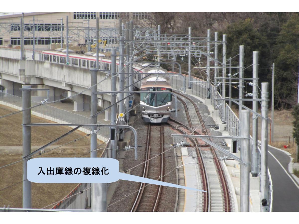 つくばエクスプレス、駅と車両基地結ぶ線路の複線化でリスク軽減 3月19 ...