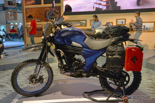 Mahindra MOJO ADVENTURE TOURER