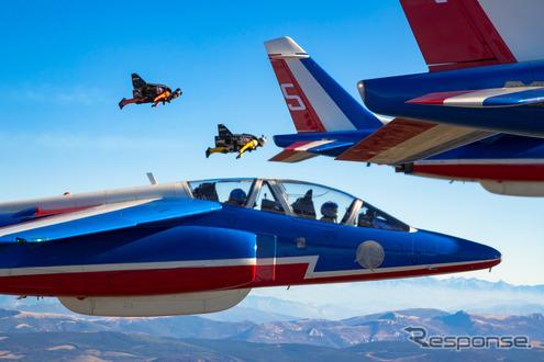 画像】「ジェットマン」と仏空軍...