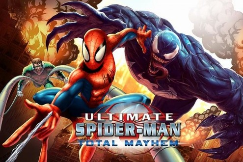 Spider Man:Total Mayhem Spider Man:Total Mayhem