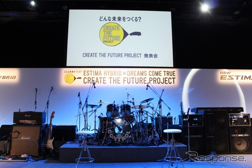 CREATE THE FUTURE PROJECT発足