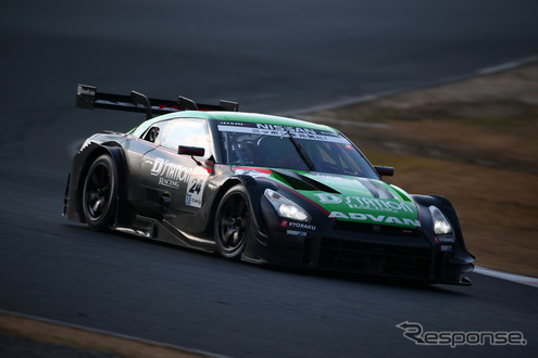 GT500クラスの#24 日産GT-R。(SUPER GT 岡山テスト)