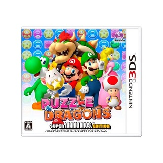 『PUZZLE & DRAGONS SUPER MARIO BROS. EDITION』パッケージ画像