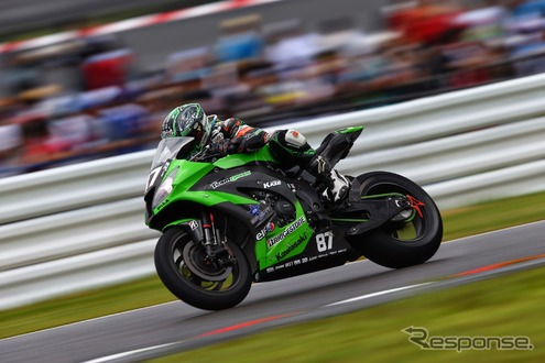 No.87 Kawasaki Team GREEN(鈴鹿8耐2014)