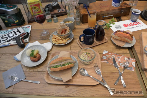 cafe 1886 at Bosch プレス向け内覧会