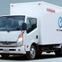 【東京トラックショー11】日産、EVトラックや給電車など展示