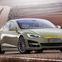 【ジュネーブモーターショー14】リンスピードの自動運転EV、XチェンジE…テスラ モデルS ベースと判明