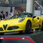 【東京モーターショー15】アルファロメオ 4Cスパイダー…カーボンファイバー製モノコックを採用[詳細画像]