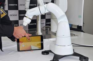 デンソーウェーブのコラボレーションロボット「COBOTTA」