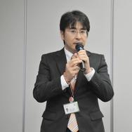 COBOTTAの開発を行うデンソーウェーブ 制御システム事業部 技術企画部 製品企画室の澤田洋祐氏