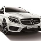 メルセデスベンツ GLA に特別仕様、ホワイトの外装にブラックアクセント