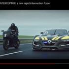 ルノースポール R.S.01 がポリスカーに…GT-R 譲りの500馬力が炸裂[動画]