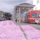 岳南電車・ジヤトコ駅前を花の名所に…プロジェクトが始動