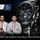 【F1】カシオ計算機、トロ・ロッソとオフィシャルパートナー契約を締結