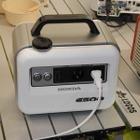 【キャンピングカーショー16】ホンダの小型蓄電機、来場者から早期販売の声相次ぐ