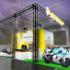 【東京モーターサイクルショー16】ダンロップ、JP250に提供するワンメイクタイヤを展示
