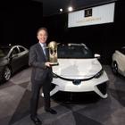 トヨタの燃料電池車 MIRAI、世界グリーンカー賞に