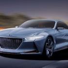 【ニューヨークモーターショー16】ヒュンダイの高級車、ジェネシスに「NYコンセプト」…HVスポーツセダン
