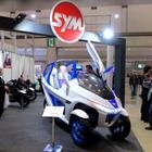 【東京モーターサイクルショー16】SYMが電動3輪モビリティのコンセプトを出展