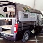 日産 NV350 キャラバン で暮らす!? リビングやキッチン、2段ベッドで非日常的移動